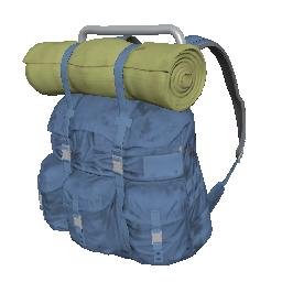 Blue Survivor Backpack