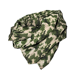 Green Digital Camo Shemagh