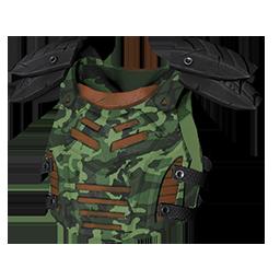 Green Camo Armor