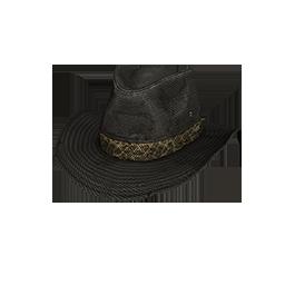 Black Canvas Outback Hat