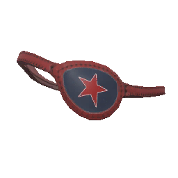 Red Star Eyepatch