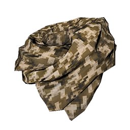 Brown Digital Camo Shemagh