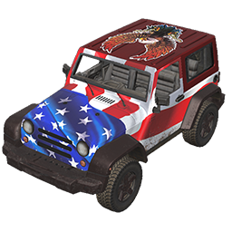 Patriotic Offroader