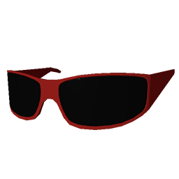 Red Biker Shades