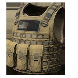 Khaki Body Armor