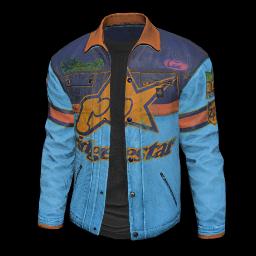 Blue Racing Jacket