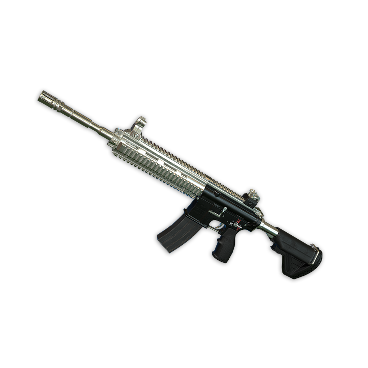 Silver Plate - M416