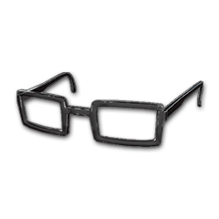 Horn-rimmed Glasses (Black)