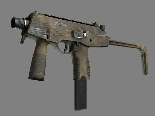 MP9 | 沙漠虚线 (破损不堪)MP9 | Sand Dashed (Well-Worn)