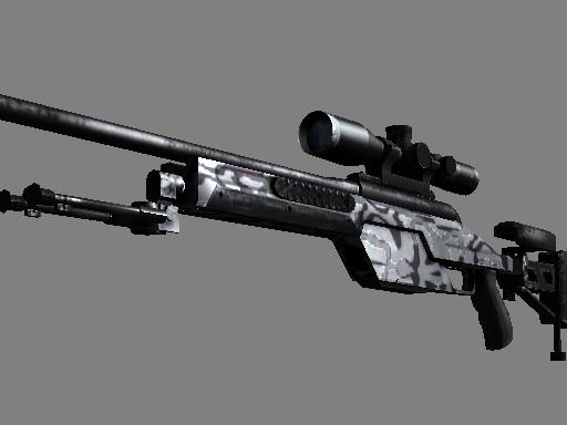 SSG 08 | 黑水 (略有磨损)SSG 08 | Dark Water (Minimal Wear)