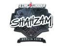 印花 | ShahZaM(闪亮)| 2019年柏林锦标赛Sticker | ShahZaM (Foil) | Berlin 2019