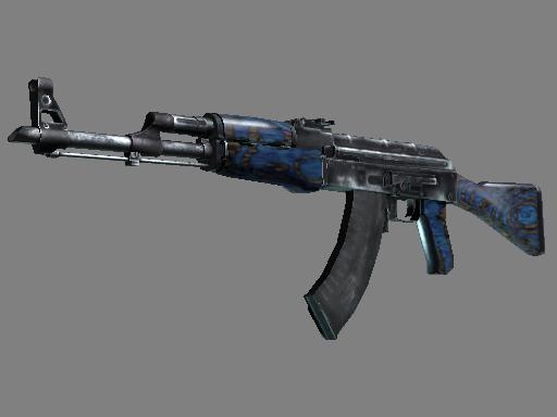 AK-47(StatTrak™) | 蓝色层压板 (久经沙场)StatTrak™ AK-47 | Blue Laminate (Field-Tested)