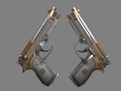双持贝瑞塔 | 卡特尔 (略有磨损)Dual Berettas | Cartel (Minimal Wear)