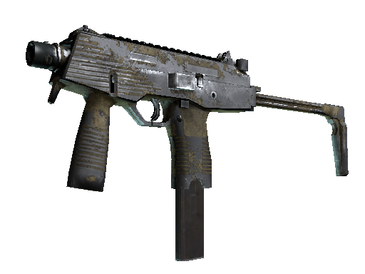 MP9 | 沙漠虚线 (战痕累累)MP9 | Sand Dashed (Battle-Scarred)