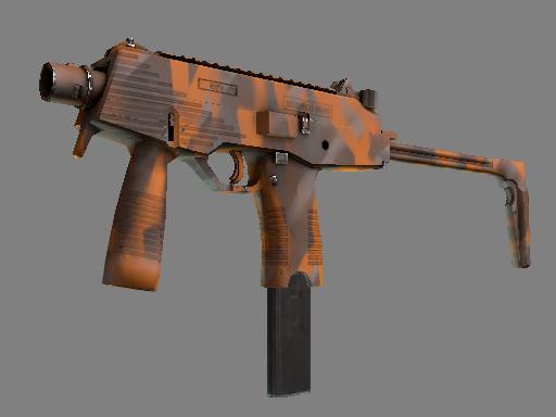 MP9 | 橘皮涂装 (略有磨损)MP9 | Orange Peel (Minimal Wear)