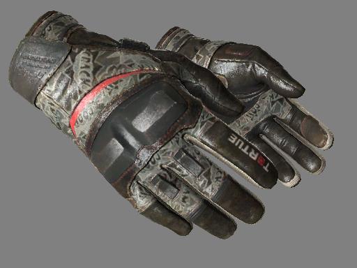 摩托手套(★) | *嘣!* (久经沙场)★ Moto Gloves | Boom! (Field-Tested)