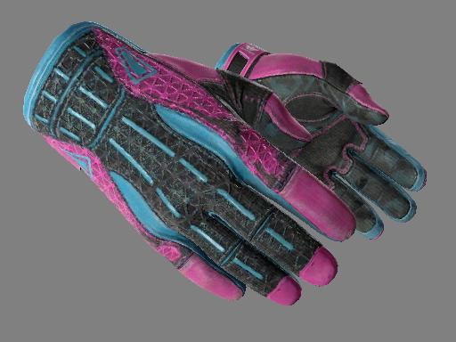 运动手套(★)   迈阿密风云 (久经沙场)★ Sport Gloves   Vice (Field-Tested)