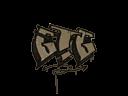 封装的涂鸦 | 走啦 (灰褐)Sealed Graffiti | GTG (Dust Brown)