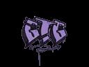 封装的涂鸦 | 走啦 (纯紫)Sealed Graffiti | GTG (Violent Violet)