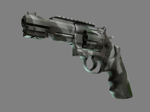 R8 左轮手枪 | 骸骨外罩 (略有磨损)R8 Revolver | Bone Mask (Minimal Wear)