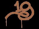 封装的涂鸦 | 1G (黄褐)Sealed Graffiti | 1G (Tiger Orange)