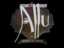 印花 | allu | 2019年柏林锦标赛Sticker | allu | Berlin 2019