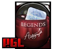 2017年克拉科夫锦标赛传奇亲笔签名胶囊Krakow 2017 Legends Autograph Capsule