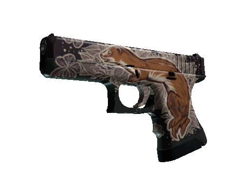格洛克 18 型(StatTrak™)   鼬鼠 (略有磨损)StatTrak™ Glock-18   Weasel (Minimal Wear)