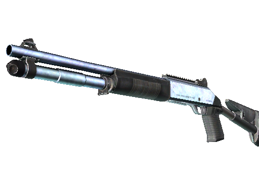 XM1014 | 蓝钢 (略有磨损)XM1014 | Blue Steel (Minimal Wear)