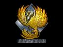 印花 | 凤凰(闪亮)Sticker | Phoenix (Foil)