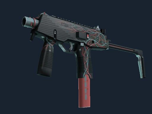 MP9(StatTrak™) | 毛细血管 (略有磨损)StatTrak™ MP9 | Capillary (Minimal Wear)