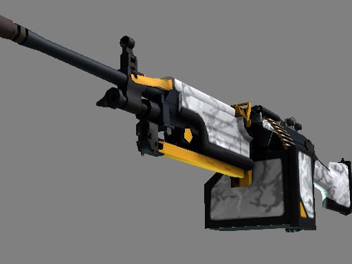 M249(StatTrak™) | 鬼影 (崭新出厂)StatTrak™ M249 | Spectre (Factory New)