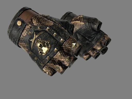 血猎手套(★)   蛇咬 (久经沙场)★ Bloodhound Gloves   Snakebite (Field-Tested)