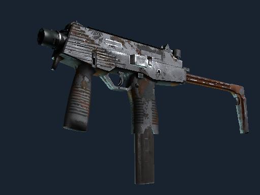 MP9 | 滑移 (战痕累累)MP9 | Slide (Battle-Scarred)