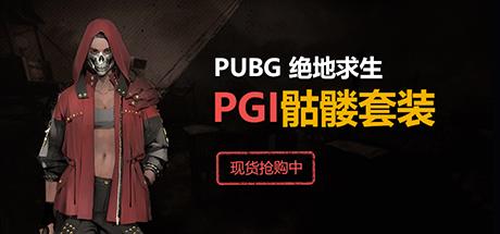 绝地求生PGI骷髅套装 代购