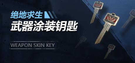 绝地求生武器涂装钥匙
