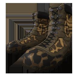 Cheetah Camo Boots