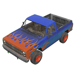 Burnout Pickup Truck