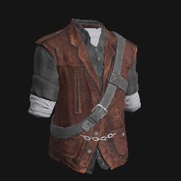 Bandit Flannel Vest