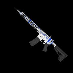 Blue Schematic AR-15