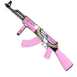 Rainbow Unicorn AK-47