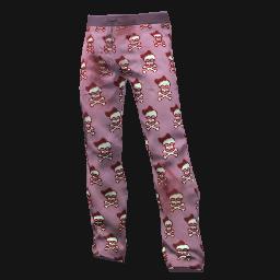 Happy Skull Scrubs Pants