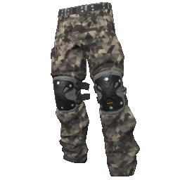 Sniper Camo Padded Pants