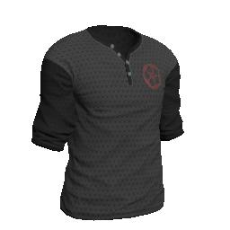 Kitsune Henley Shirt