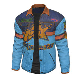 Blue Racing Jacket
