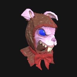 Pink Rabbit Mask