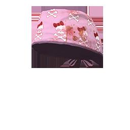 Happy Skull Scrubs Cap
