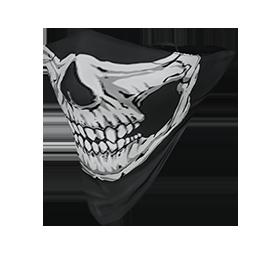Skull Face Bandana