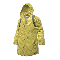 Yellow Raincoat Parka