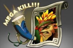 连杀播音:钢背兽Mega-Kills: Bristleback